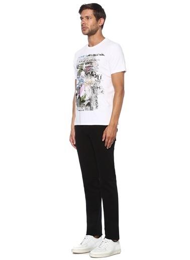 Etro Etro  Baskılı Basic T-shirt 101552746 Beyaz